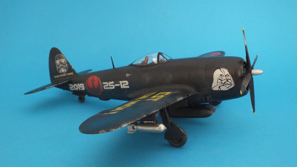 "P-47D Tamiya 1/48 61090 , ""Star Wars"".  - Page 2 Dscf4630"