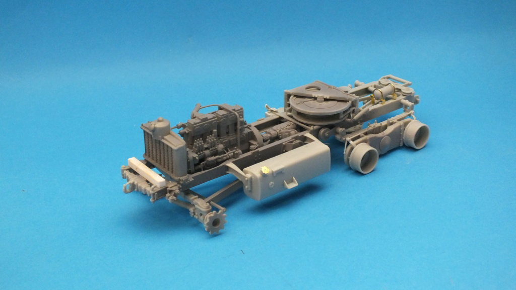 Scammell Pioneer SV/2S recovery tractor - Thunder Model 1/35 réf:35201 Dscf5210
