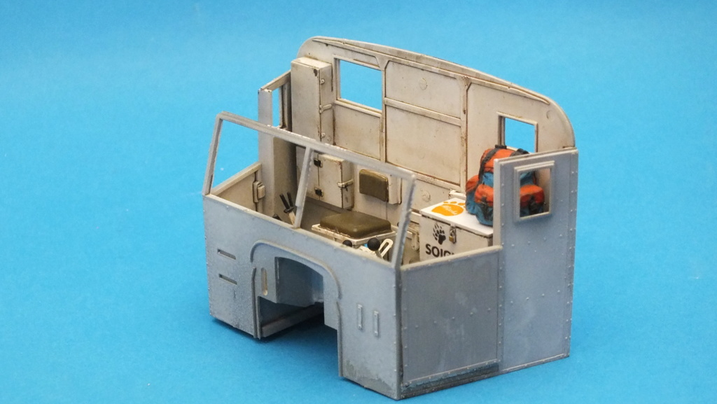 Scammell Pioneer SV/2S recovery tractor - Thunder Model 1/35 réf:35201 - Page 2 Dscf5222