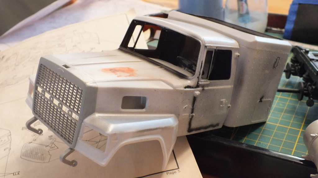 Ford LTL 9000 Revell 1/24 réf:07553 Dscf6535