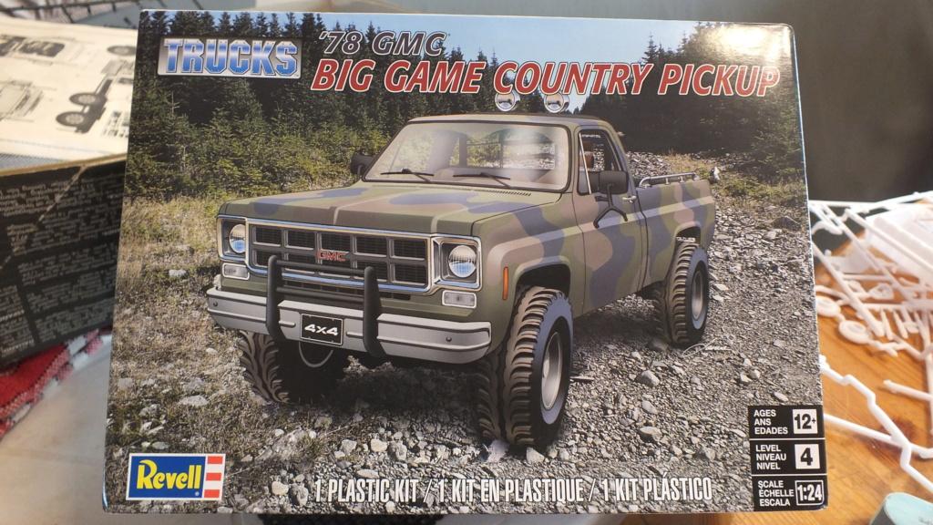 Pick up '78 GMC 1/24 réf: 7226 Dscf6612