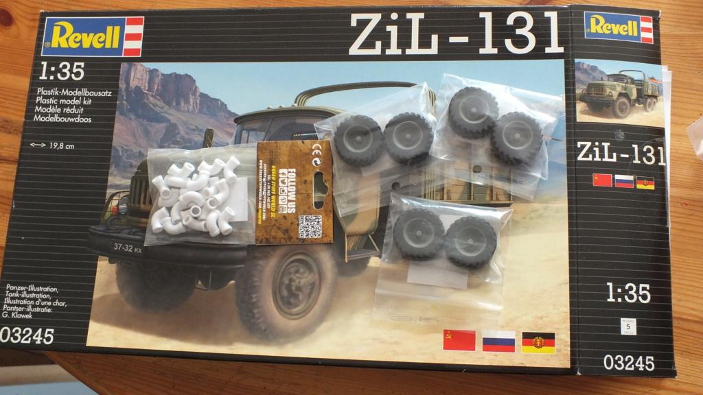 """[REVELL] ZIL 131 1/35 version """"Trail"""" 1/35ème Réf 03245 Dscf7210"""