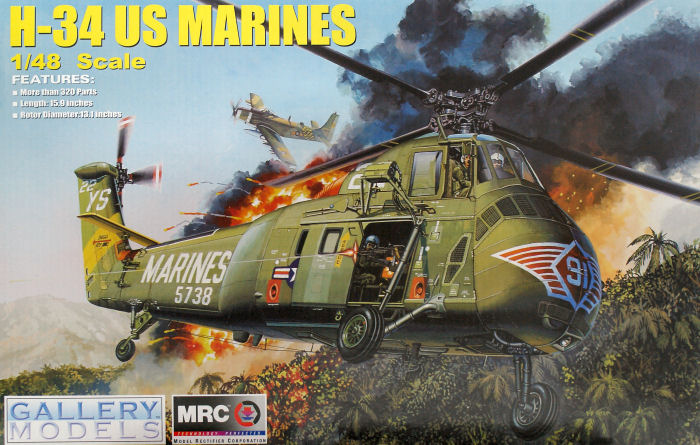 H-34 US Marines Trumpeter - No. 64101 - 1:48 Galler10