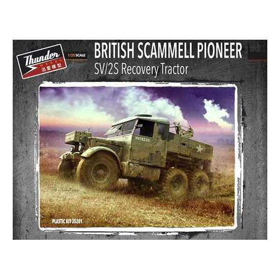 Scammell Pioneer SV/2S recovery tractor - Thunder Model 1/35 réf:35201 Thunde11