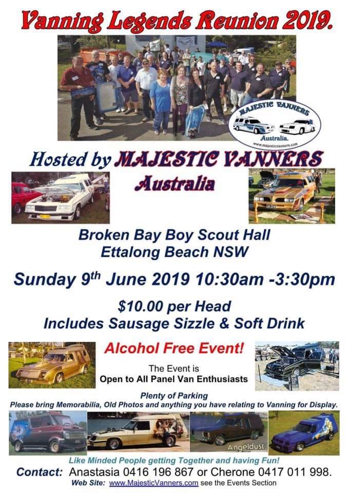 2019 Vanning Legends Reunion - Sunday 9th June 2019. Fb_img10