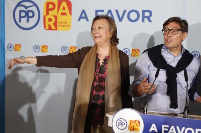 PP | Luis María Beamonte, a falta de un pacto con Vox para convertirse en el presidente del Gobierno de Aragón. 11184611