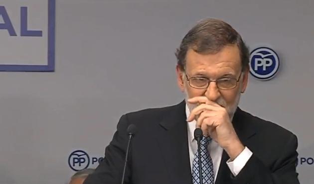 [PP] Mariano Rajoy presenta su dimisión como presidente del Partido Popular entre lágrimas, y el aplauso del Comité Ejecutivo Nacional 39010
