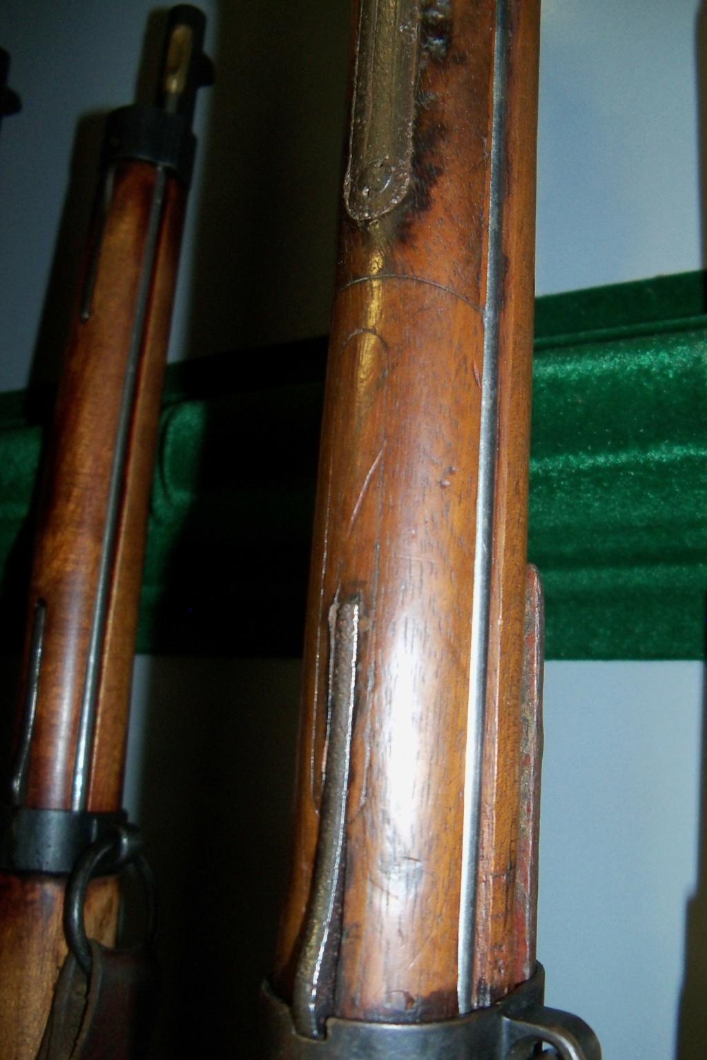 Fusil et mousqueton Berthier question de grenadières 101_0231