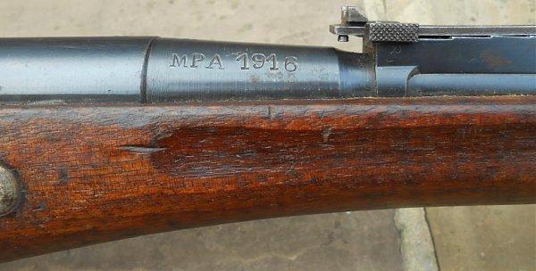 Berthier 07/15 avec canon 1892, culasse droite. 1907-177