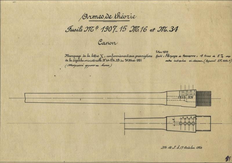 Berthier 07/15 avec canon 1892, culasse droite. Arme_d10