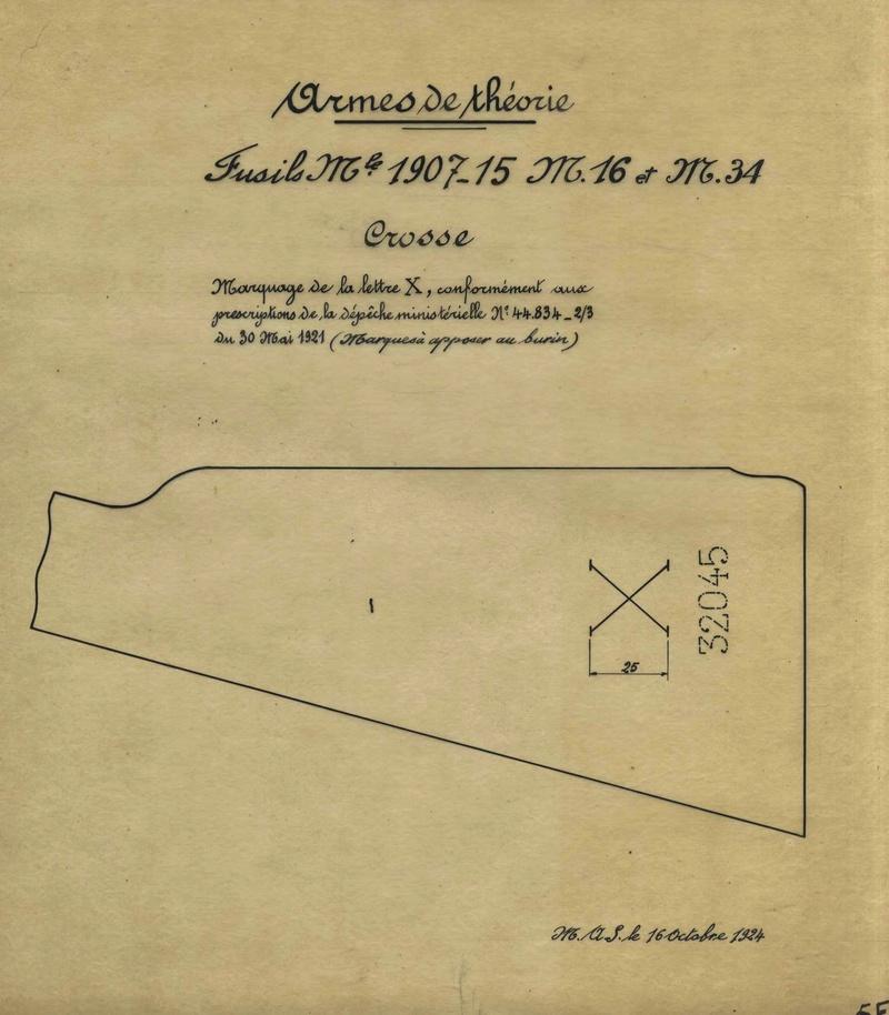 Berthier 07/15 avec canon 1892, culasse droite. Arme_d11