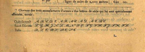 Berthier 07/15 avec canon 1892, culasse droite. Liste_13