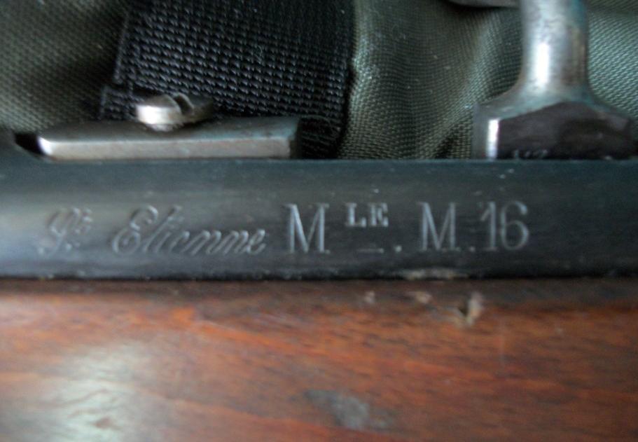 Un mousqueton M16 qui revient de loin ! Marqua16