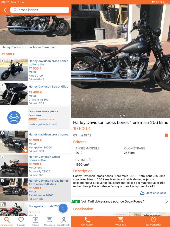 Cross bones 2011 18000 km(VENDUE) 432a2310