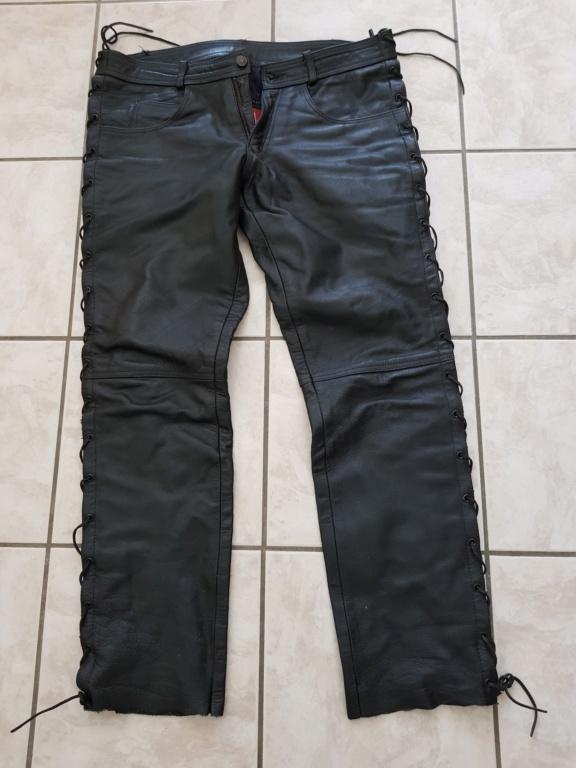 Pantalon cuir Last Rebel à lacet [VENDU] 4b42f710
