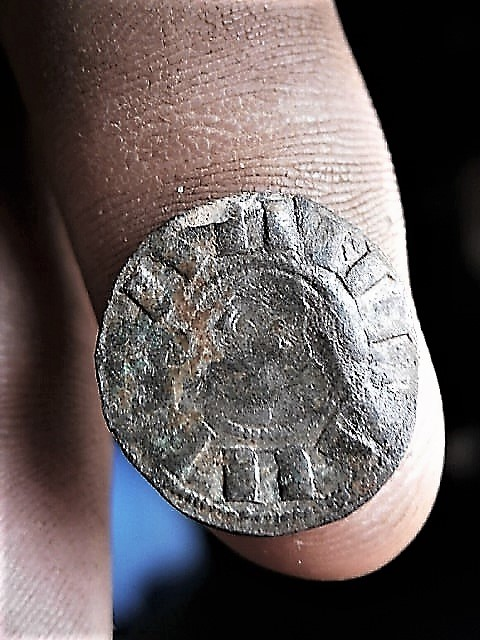 Dinero de Alfonso I el batallador P1010092