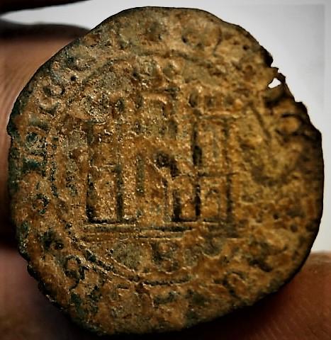 Medio cuarto o 1/8 de real de Enrique IV P1010234