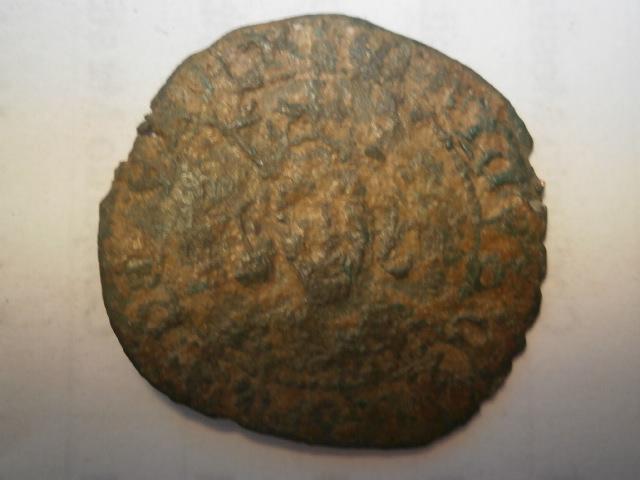 Medio cuarto o 1/8 de real de Enrique IV P1010235