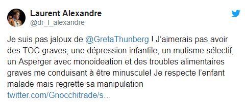 Greta Thunberg phénomène de foire médiatique... Captur92
