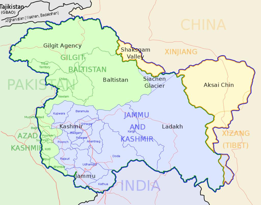 L'INDE a passé la LoC pour attaquer une cible au Pakistan Kashmi10