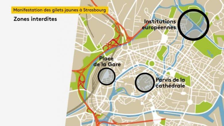 Strasbourg sous « une cloche sécuritaire » ce samedi 1 juillet 2017 Zonesi10