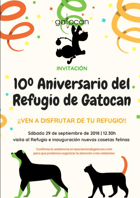 Décimo aniversario de nuestro refugio 29 septiembre 2018 20180910