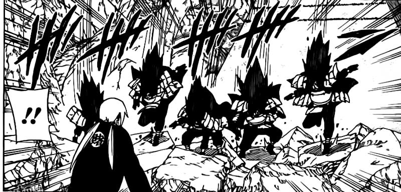 Tsunade vs Sasuke Hebi 0911