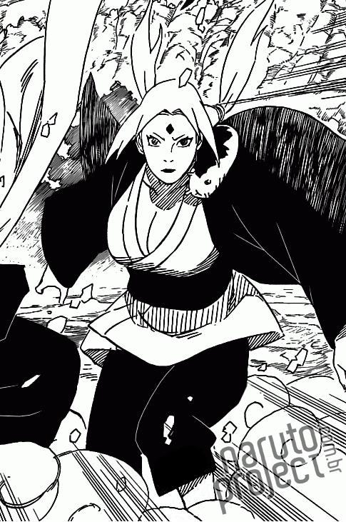 Tsunade vs Sasuke Hebi 1513