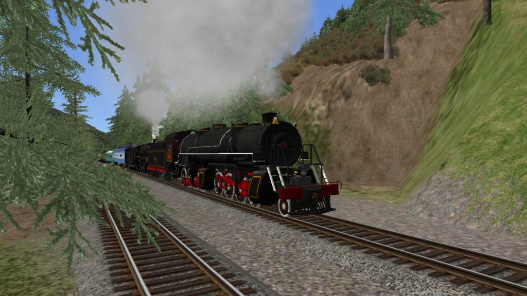 Mallet 204 Train Simulador Screen18
