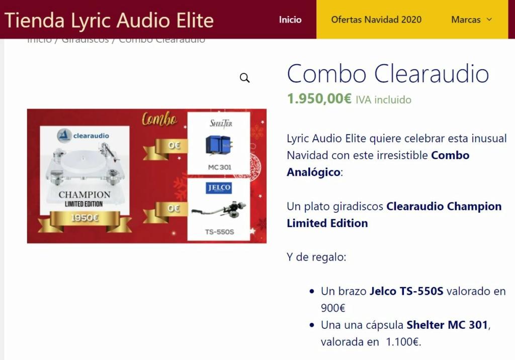 Combo Clearaudio - Lyric Audio - Promoción Navidad 2020 Combo_10