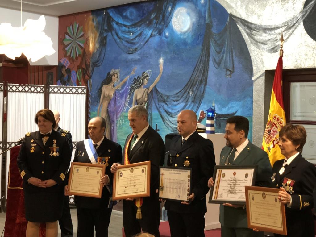LA HERMANDAD DE GUARDIAS CIVILES AUXILIARES EN EL ALMUERZO DE CONFRATERNIDAD MARINERA DE FELAN EN GUADALAJARA 2018-115