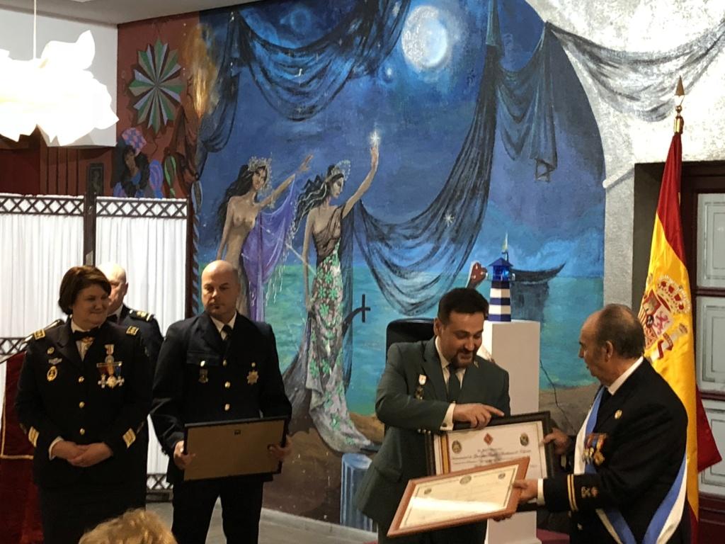 LA HERMANDAD DE GUARDIAS CIVILES AUXILIARES EN EL ALMUERZO DE CONFRATERNIDAD MARINERA DE FELAN EN GUADALAJARA 2018-117