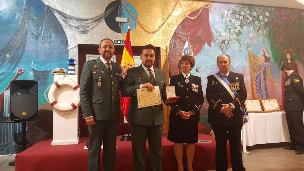 LA HERMANDAD DE GUARDIAS CIVILES AUXILIARES EN EL ALMUERZO DE CONFRATERNIDAD MARINERA DE FELAN EN GUADALAJARA 20181110