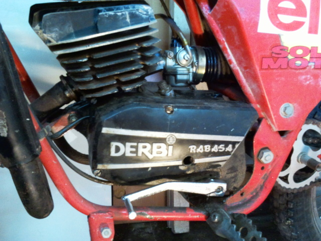 Derbi C7. Comenzar el trabajo. 2011-110