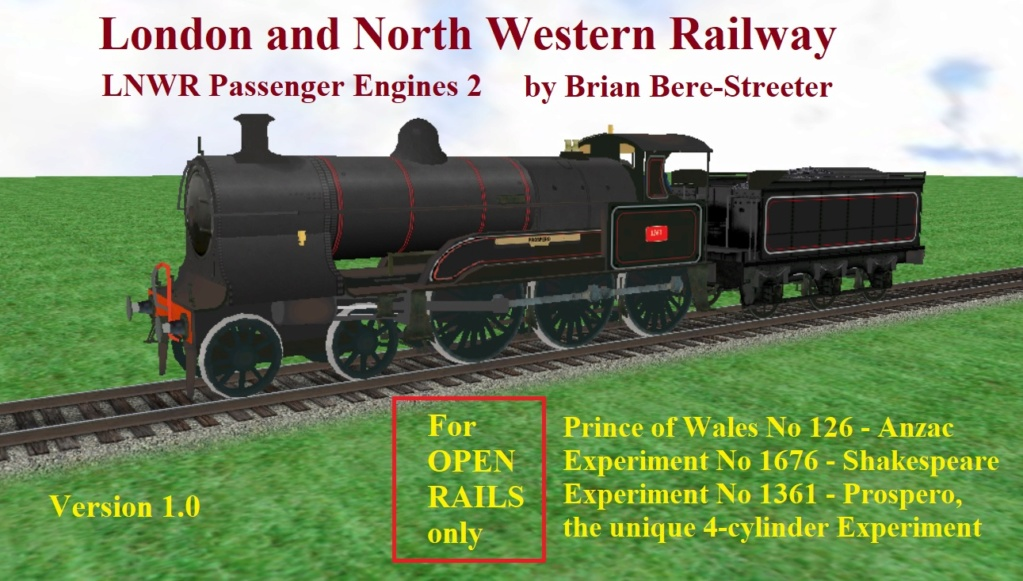 Locomotives in the Works Lnwr-p10