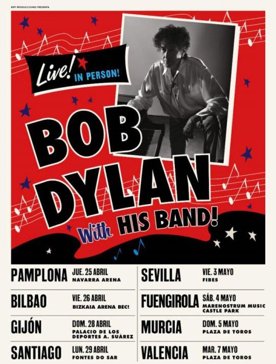 """Bob Dylan España 2018/2019 - Referencias Interpretativas - """"El Set"""", 2013-2019 - Página 5 15453114"""