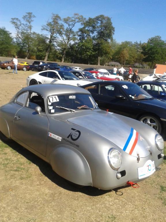 CR de la sortie 70 ans Porsche Autodrome de Mulhouse 20180911
