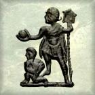 AE2 bajo imperio. REPARATIO - REIPVB. Emperador dando la mano a mujer arrodillada. 196_0010