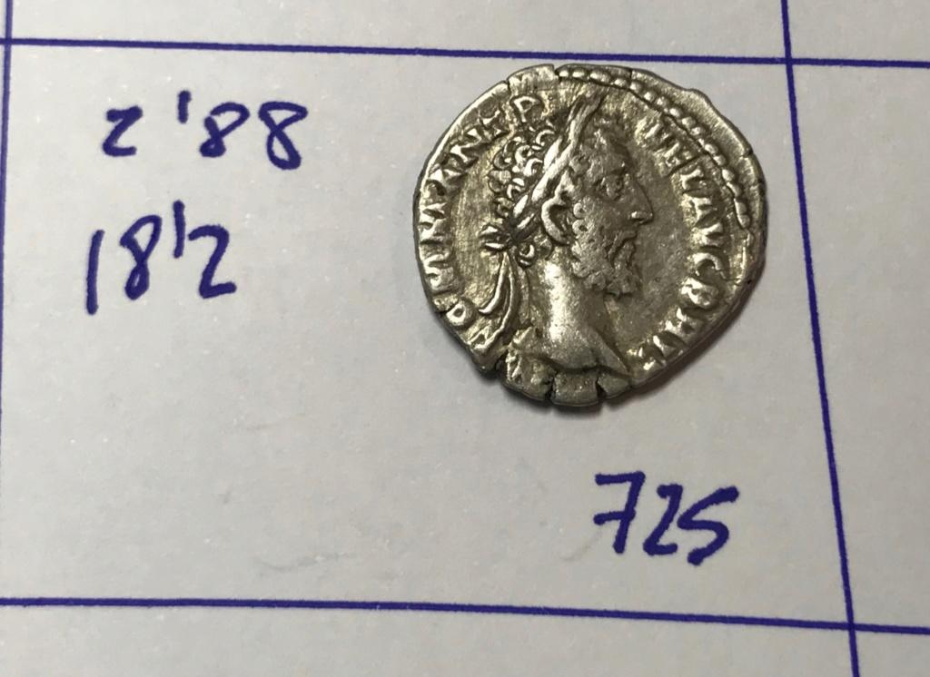 Denario de Cómodo. VOT SOL DEC P M TR P XII IMP VIII, en el exergo COS V P P. Cómodo estante a izq. Roma. Img_8217