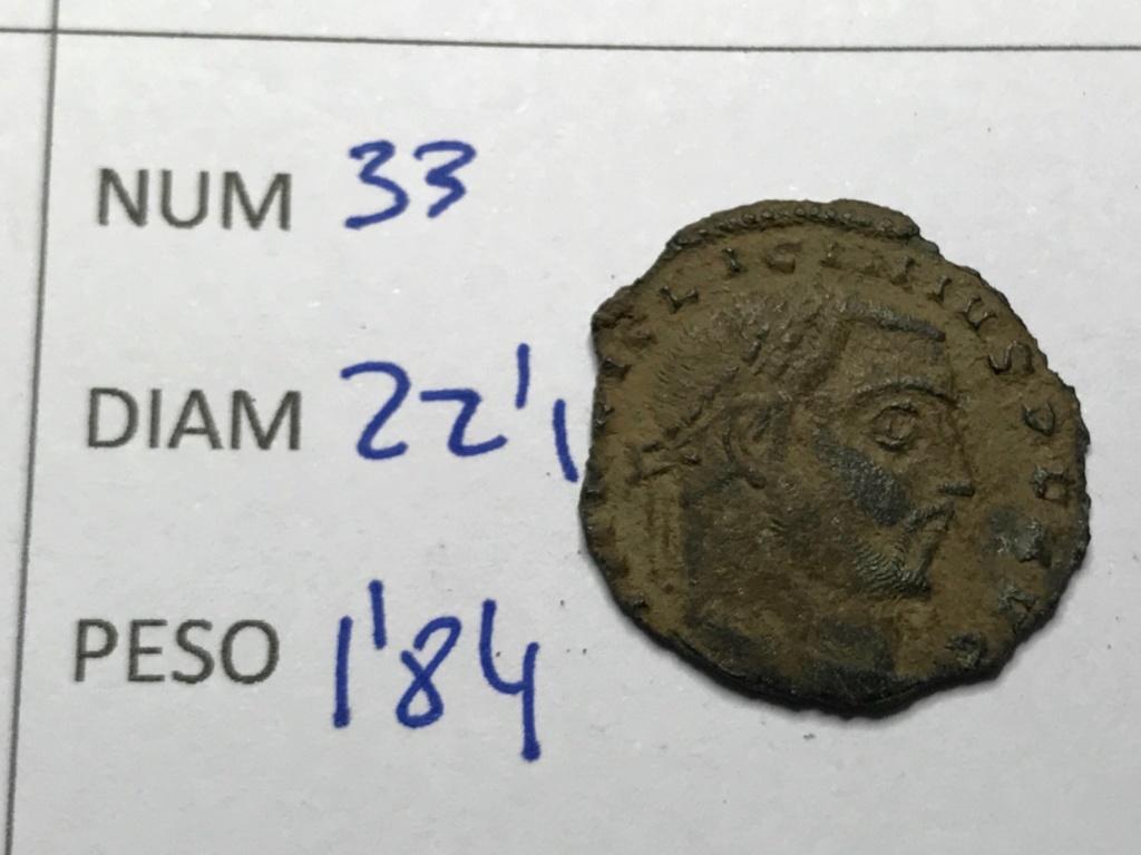 Nummus de Licinio I. IOVI CONSERVATORI AVG. Júpiter estante a izq. Tesalónica. Img_8621