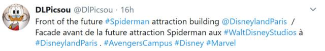 [Parc Walt Disney Studios] WEB SLINGERS: A Spider-Man Adventure (2021) - Page 13 D110