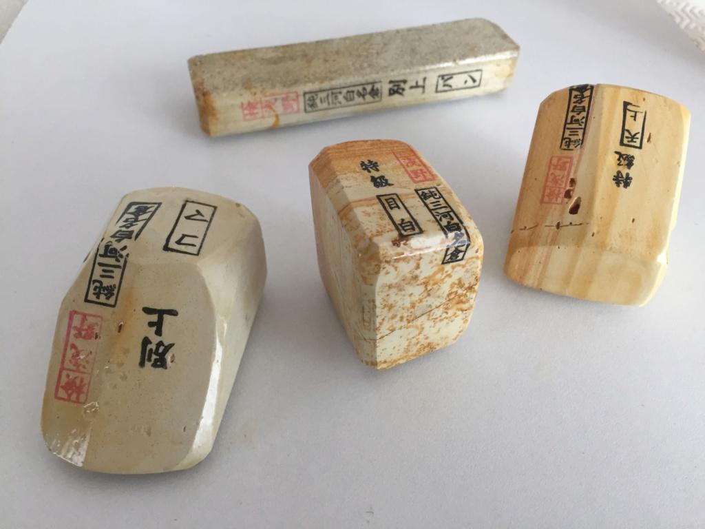 Laquage de pierre japonaise à l'Urushi B144c510