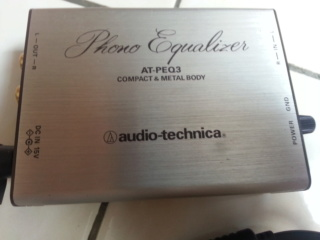 Audio Technica AT PEQ3 mm phono stage 20180917