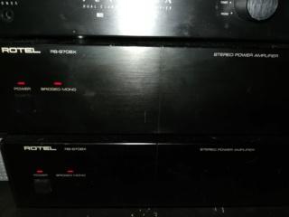 Perraux Pre amp & Rotel RB970BX monoblock(price reduced) Img_2029