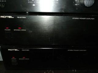 Perraux Pre amp & Rotel RB970BX monoblock(price reduced) Img_2031