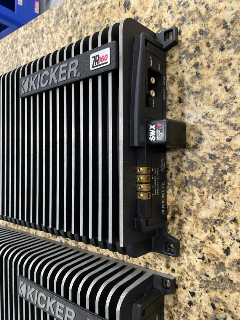 Kicker ZR Amp (Sold) 42183610