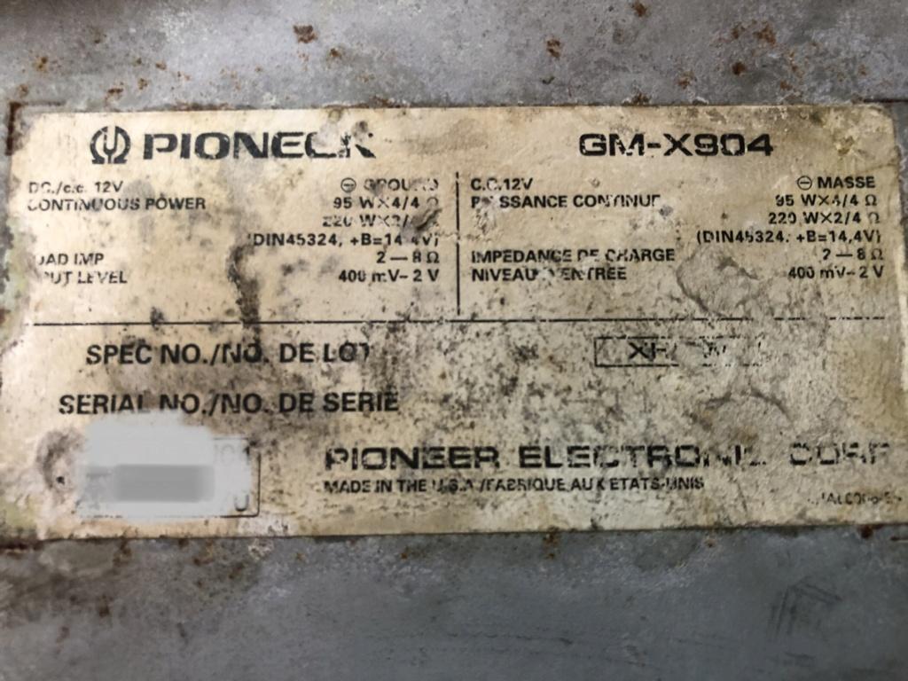 Pioneer (Sold) 57cd6210