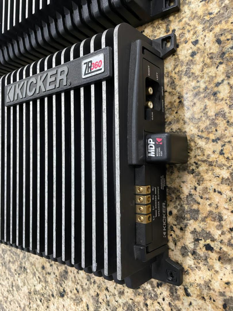 Kicker ZR Amp (Sold) 6dc87b10