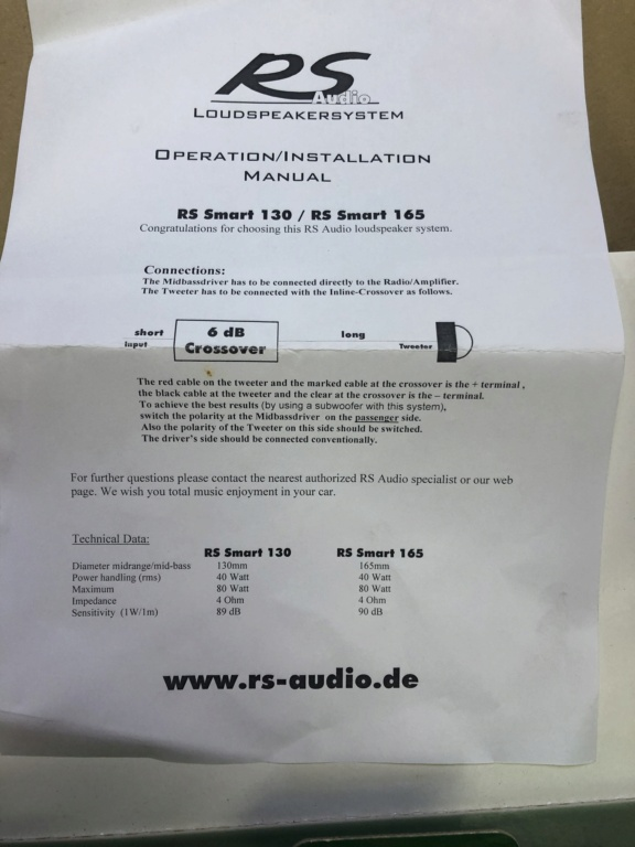 RS Audio (Sold) 73261310
