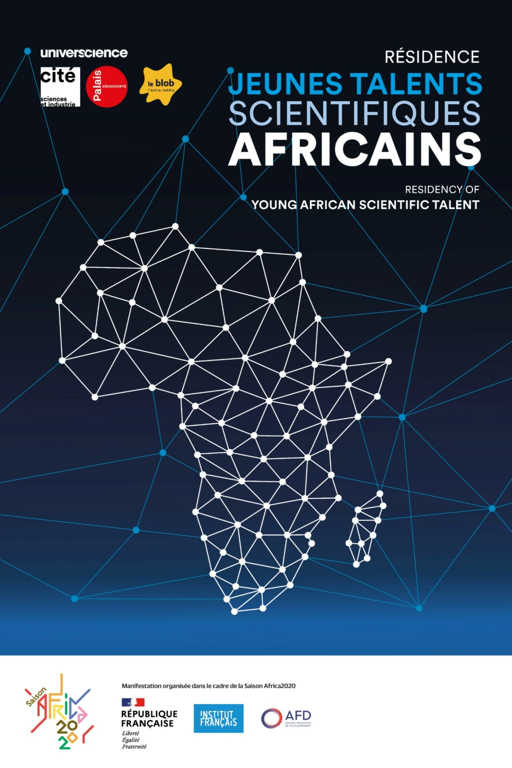 Résidence Jeunes talents scientifiques Africains en octobre 2021 à la Cité des Sciencesés Rzosid10